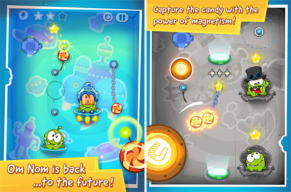 Cut The Rope: Time Travel - Gameplay