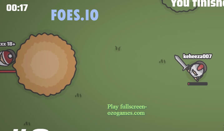 Foes.io Gameplay