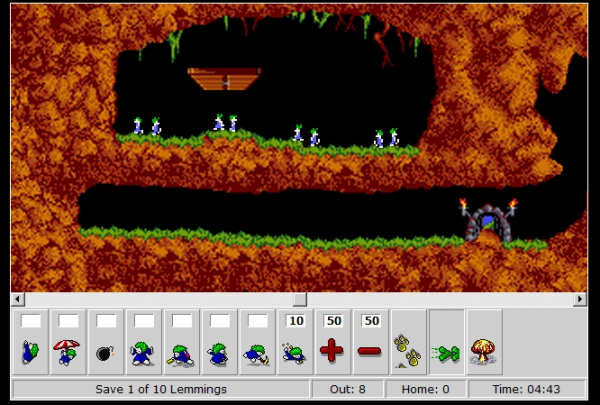 Lemmings-Online-Gameplay